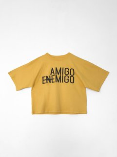 Remera Amigo Enemigo con estampa