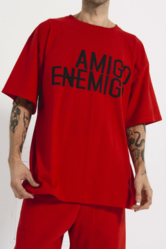 remerón amigo enemigo con estampa en internet