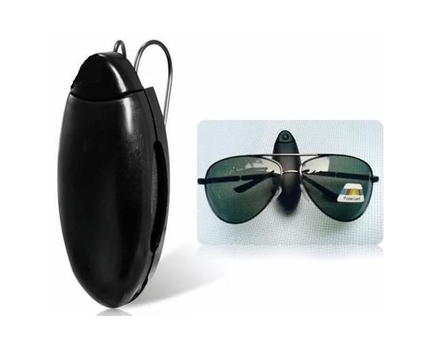 Porta culos veicular suporte quebra sol para culos canetas for Porta oculos automotivo