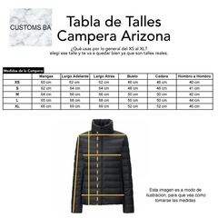 Campera Arizona Negra
