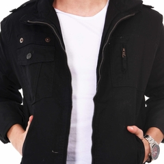 Campera Scott Negra