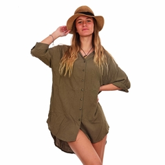 Camisola Grecia Verde - Customs BA
