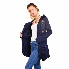 Parka Paris Azul en internet