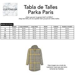 Parka Paris Verde - Customs BA