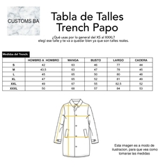 Trench Papo Negro - comprar online