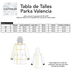 Parka Valencia Verde - Customs BA