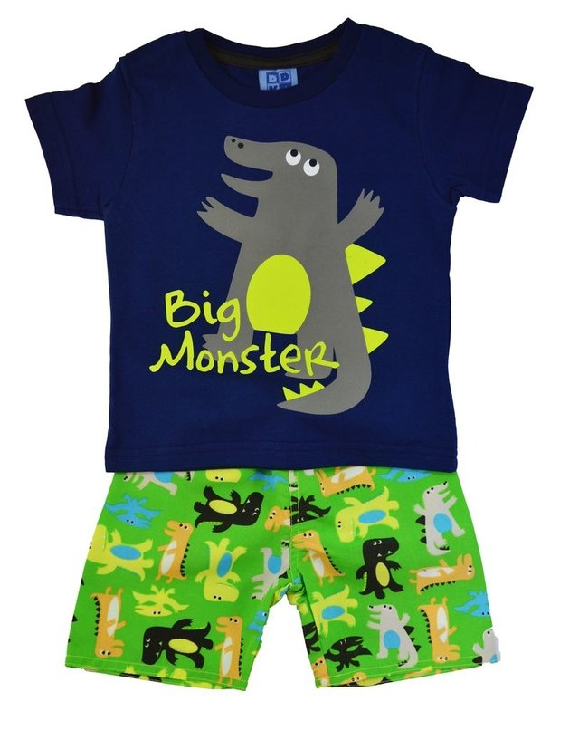 CONJUNTO DUDUKA BIG MONSTER AZUL
