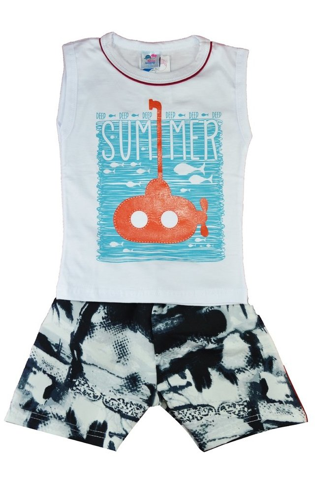 CONJUNTO MINI LUNNY SUBMARINO SUMMER