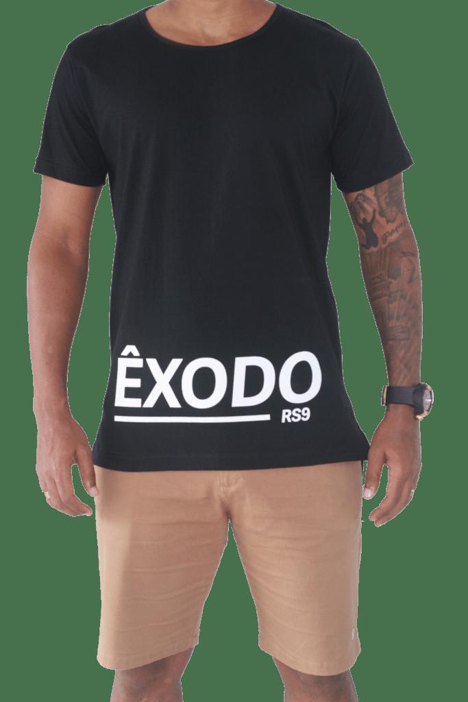 8c705b5728 Camiseta ÊXODO-RS9 Destaque