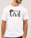 CAMISETA MASCULINA ENGENHARIA CIVIL LOVE