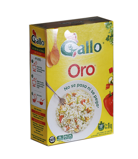 ARROZ GALLO ORO X 1 KG S/ TACC