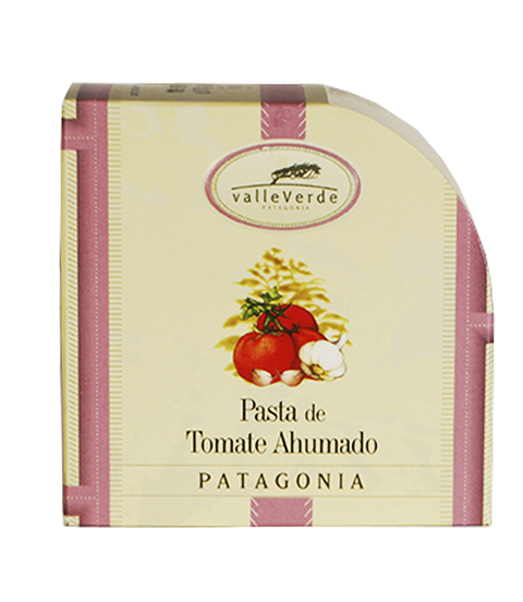 VALLEVERDE PATE DE TOMATE AHUMADO X 90 GRS