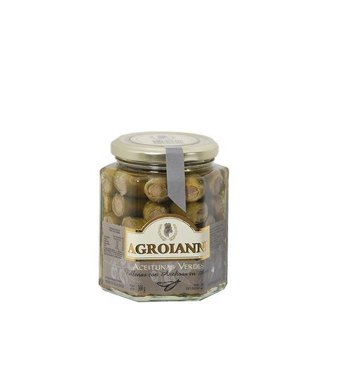 AGROIANNI ACEIT. RELL. C/ANCHOAS X 360 GRS