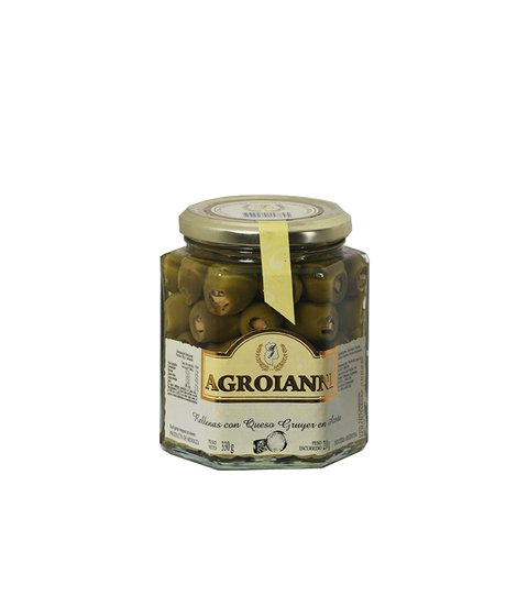 AGROIANNI ACEIT. RELL. C/GRUYERE X 330 GRS