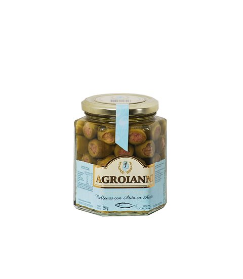 AGROIANNI ACEIT. RELL. C/ATUN X 360 GRS