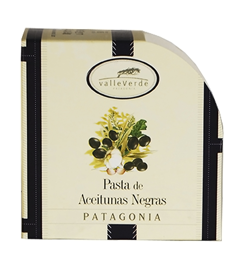 VALLEVERDE PATE ACEITUNAS NEGRAS X 90 GRS