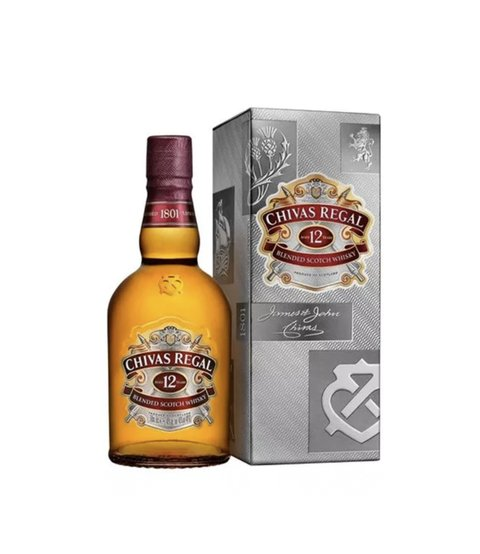 W. CHIVAS REGAL ESTUCHE 500 CC