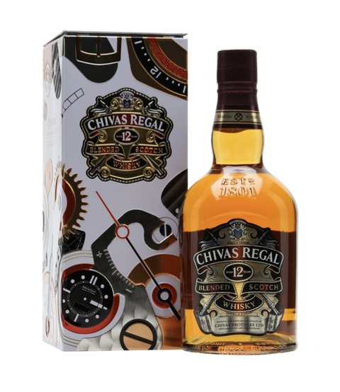 W. CHIVAS REGAL GIFT-TIN ESTUCHE 750 CC
