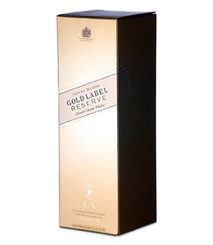 W. J. WALKER GOLD LABEL RESERVE ESTUCHE 750 CC