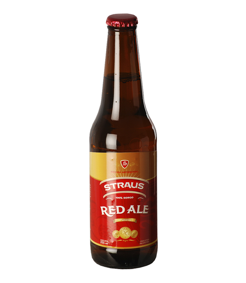C. STRAUS RED ALE BOT. X 330 CC S/TACC