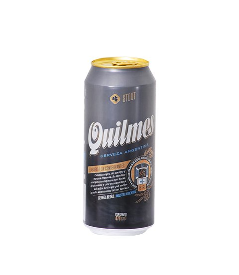 C. QUILMES STOUT LATA X 473 ML