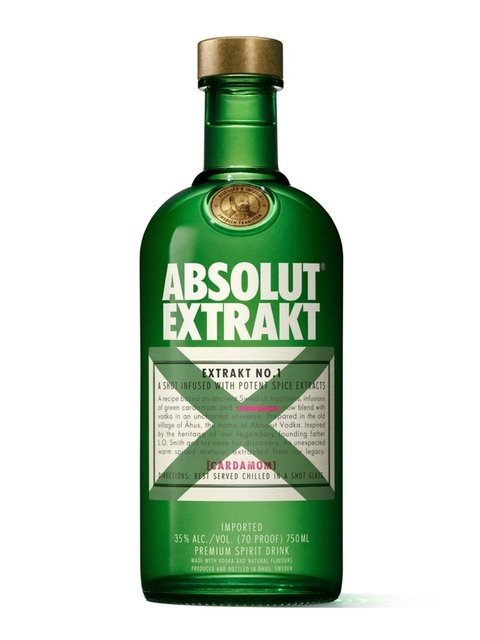 V. ABSOLUT EXTRAKT X 750 ML