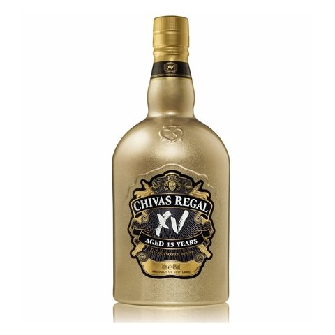 W. CHIVAS REGAL XV GOLD ED. LIMITADA X 750 ML