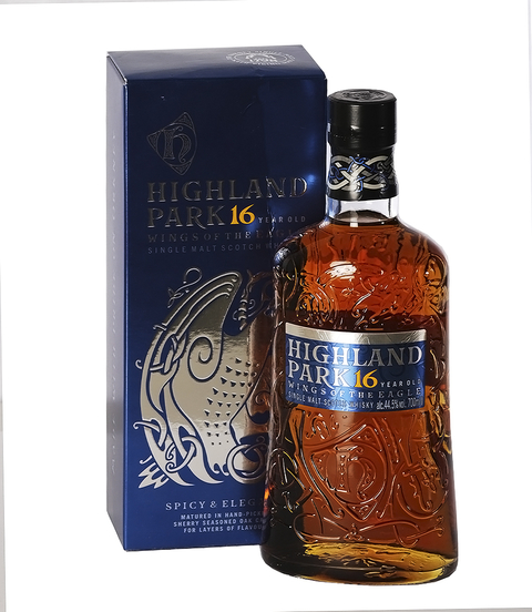 W. HIGHLAND PARK 16 AÑOS WINGS OF EAGLE X 700 ML