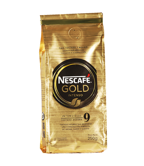 NESCAFE GOLD INTENSO X 250 GRS