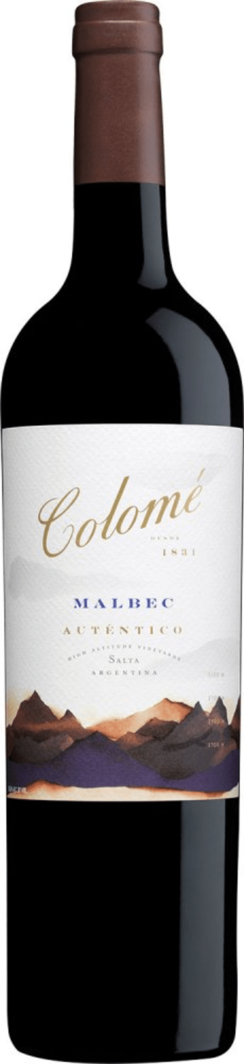COLOME AUTENTICO MALBEC