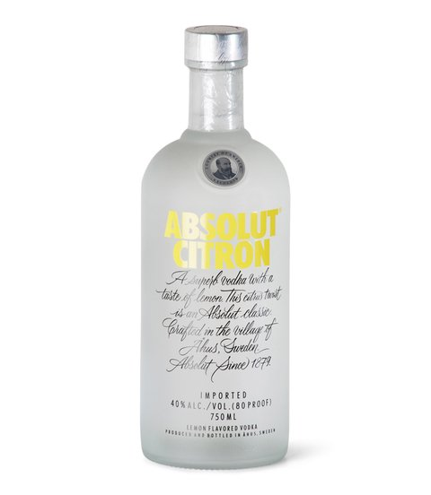 V. ABSOLUT CITRON X 750 CC