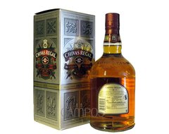 W. CHIVAS REGAL ESTUCHE 1 LT