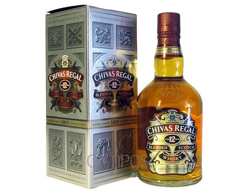 W. CHIVAS REGAL ESTUCHE 750 CC