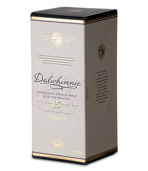 W. DALWHINNIE MALT 15 AÑOS X 750 ML