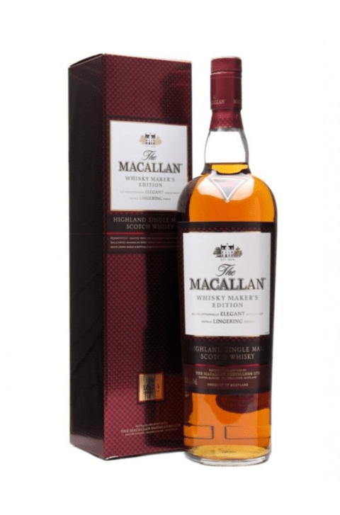 W. THE MACALLAN MAKERS EDITION ESTUCHE X 700 ML
