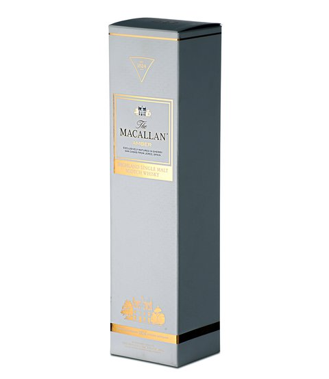 W. THE MACALLAN AMBER ESTUCHE 750 CC