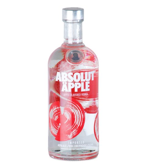 V. ABSOLUT APPLE X 750 CC