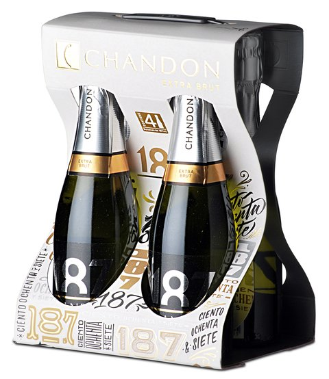 EST. ESP. CHANDON FOUR PACK X 187CC