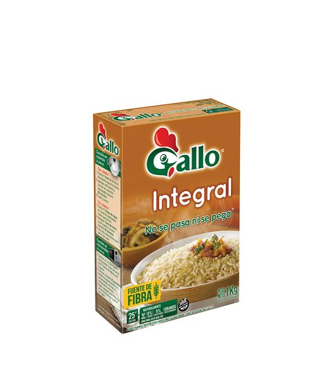ARROZ GALLO INTEGRAL X 1 KG