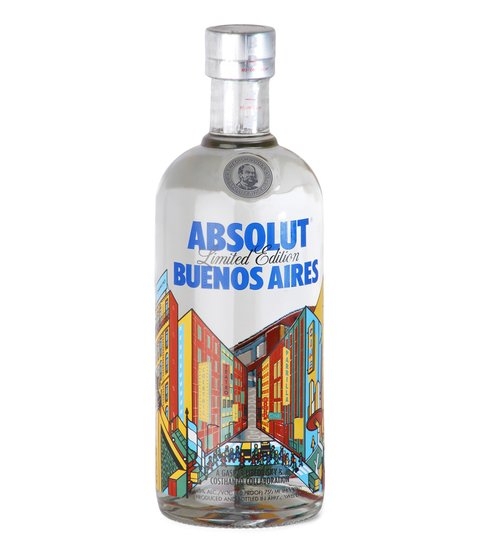 V. ABSOLUT BUENOS AIRES X 750 ML
