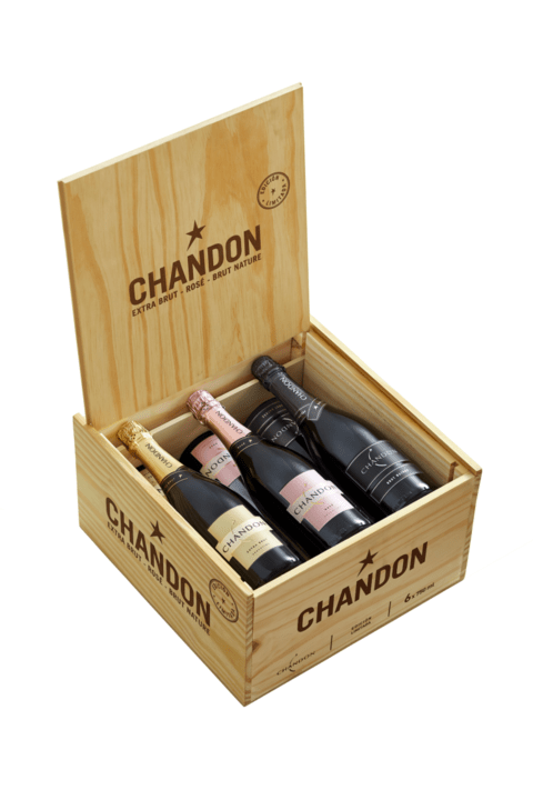 EST. CH. CHANDON EXTRA BRUT/ROSE/B. NATURE X 6 BOT