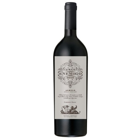 GRAN ENEMIGO SINGLE VINEY AGRELO CAB FRANC 2013 - comprar online