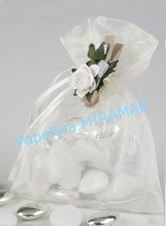 daed1ed06 25 Bolsitas de Organza - ideal Souvenir bodas y Bijouterie