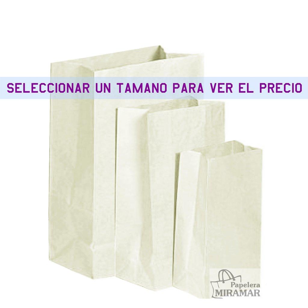 a98c06b64 Bolsas Delivery blancas sin manijas - Papelera Miramar