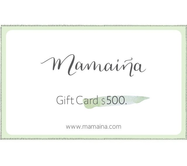 Gift Card $500 - Pedro -