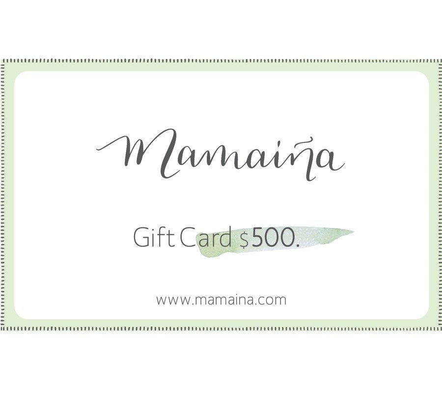 Gift Card $500.