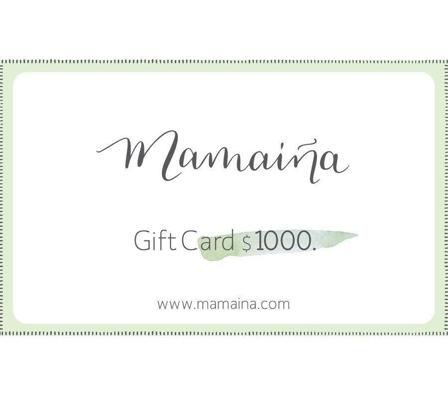 Gift Card $1000.