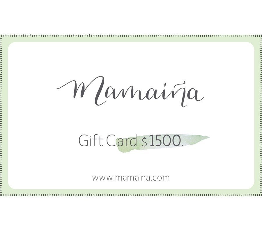 Gift Card $1500.