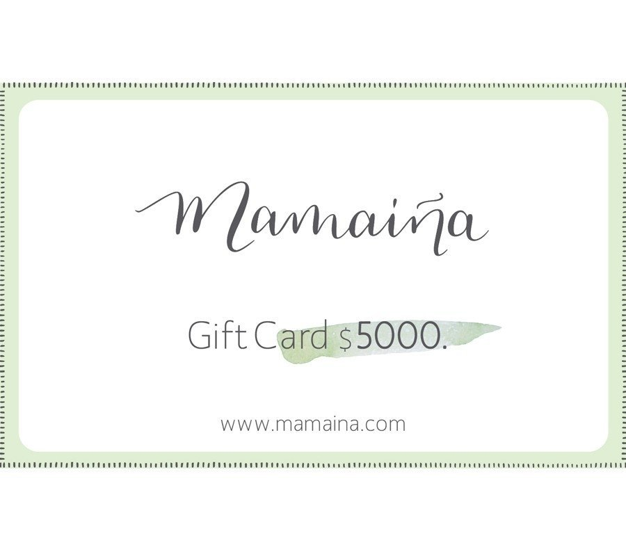 Gift Card $5000.