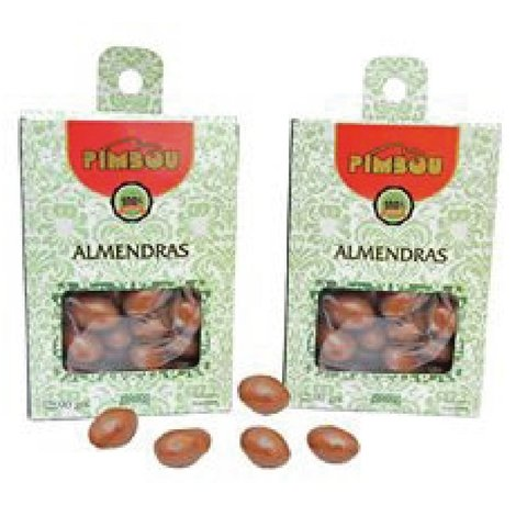 Almendras al chocolate
